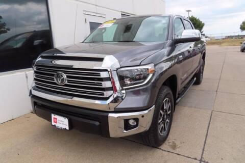 2019 Toyota Tundra for sale at HILAND TOYOTA in Moline IL