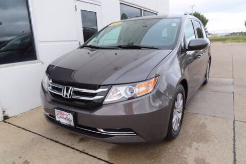 2016 Honda Odyssey for sale at HILAND TOYOTA in Moline IL