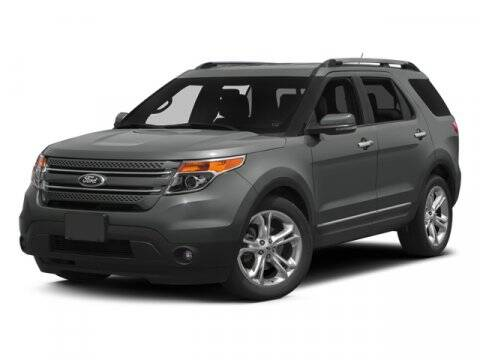 2014 Ford Explorer for sale at HILAND TOYOTA in Moline IL