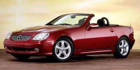 2001 Mercedes-Benz SLK for sale at HILAND TOYOTA in Moline IL