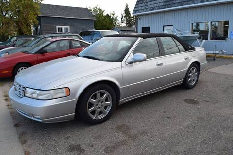 2001 Cadillac Seville for sale at Four Boys Motorsports in Wadena MN