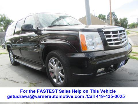 2004 Cadillac Escalade ESV for sale in Findlay, OH