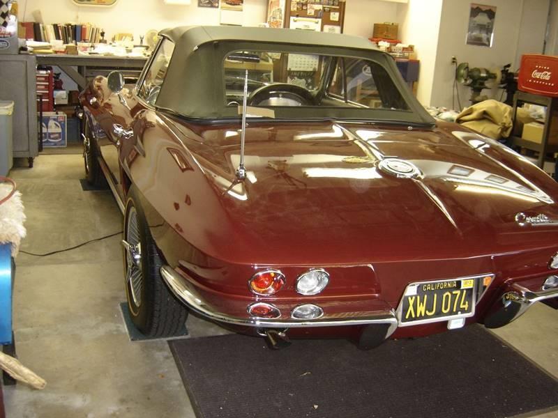 1965 corvett convertible  - Upland CA
