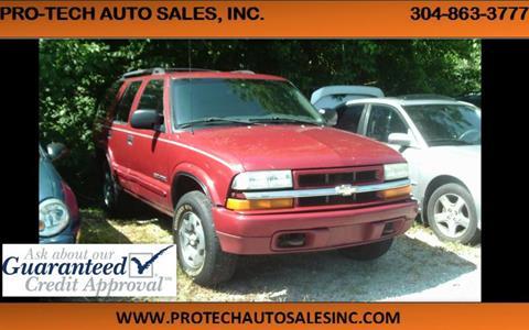 2003 Chevrolet Blazer for sale in Parkersburg, WV