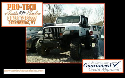 1991 Jeep Wrangler for sale in Parkersburg, WV