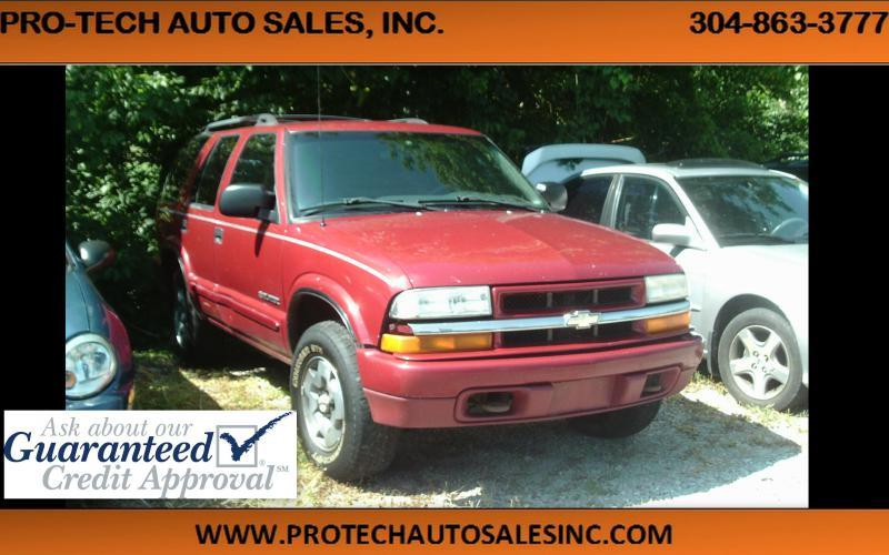 2003 Chevrolet Blazer 4x4 LS 4dr SUV - Parkersburg WV