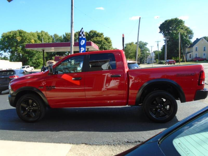 2020 RAM Ram Pickup 1500 Classic for sale at Nelson Auto Sales in Toulon IL