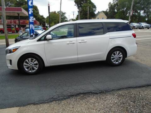 2017 Kia Sedona for sale at Nelson Auto Sales in Toulon IL