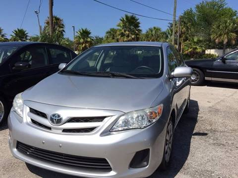 2011 Toyota Corolla for sale at PRIME AUTO CENTER in Palm Springs FL