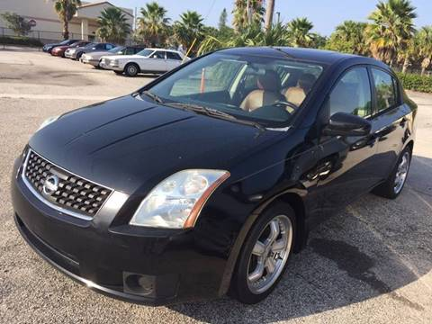 2007 Nissan Sentra for sale at PRIME AUTO CENTER in Palm Springs FL