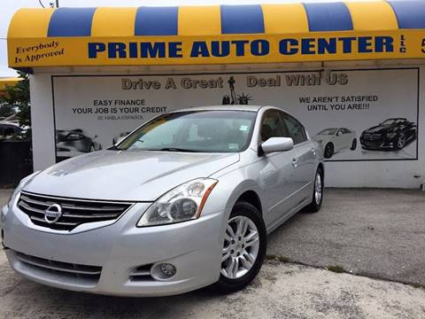 2012 Nissan Altima for sale at PRIME AUTO CENTER in Palm Springs FL