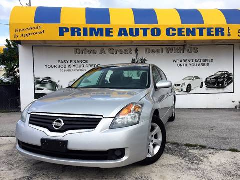 2008 Nissan Altima for sale at PRIME AUTO CENTER in Palm Springs FL