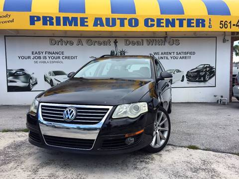 2007 Volkswagen Passat for sale at PRIME AUTO CENTER in Palm Springs FL