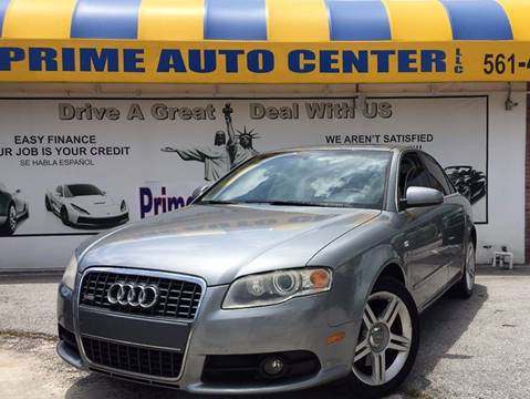 2008 Audi A4 for sale at PRIME AUTO CENTER in Palm Springs FL