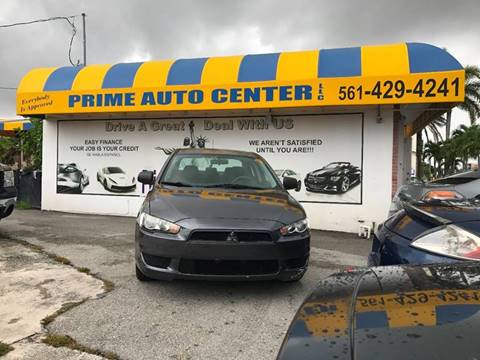 2009 Mitsubishi Lancer for sale at PRIME AUTO CENTER in Palm Springs FL