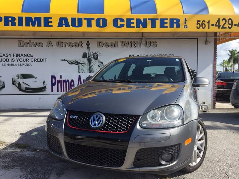 2007 Volkswagen Gti Fahrenheit 2dr Hatchback In Palm Springs FL ...