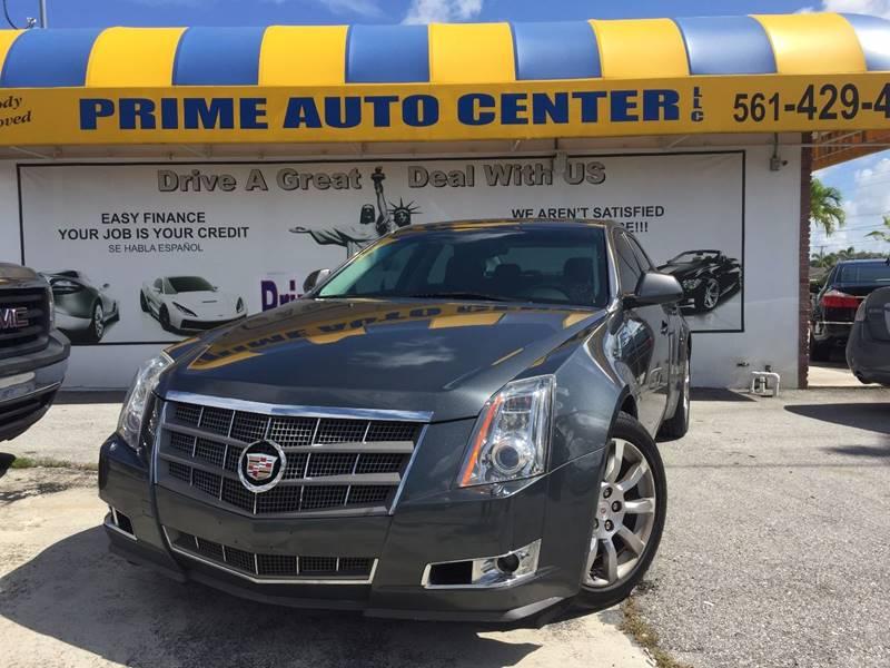 2008 Cadillac Cts AWD 3 6L DI 4dr Sedan In Palm Springs FL