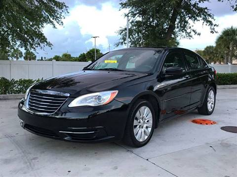 2012 Chrysler 200 for sale at PRIME AUTO CENTER in Palm Springs FL