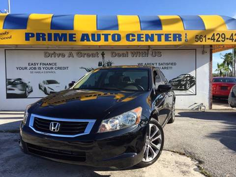 2010 Honda Accord for sale at PRIME AUTO CENTER in Palm Springs FL