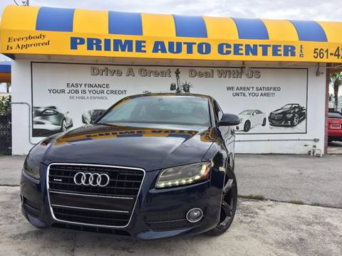 2009 Audi A5 for sale at PRIME AUTO CENTER in Palm Springs FL