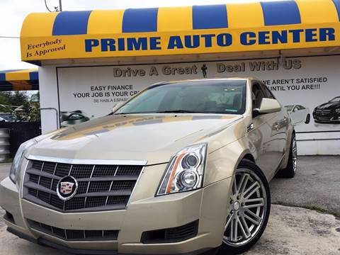 2008 Cadillac CTS for sale at PRIME AUTO CENTER in Palm Springs FL