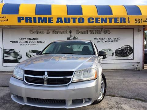 2008 Dodge Avenger for sale at PRIME AUTO CENTER in Palm Springs FL