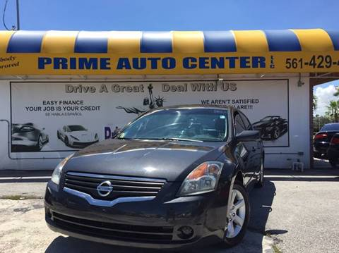 2007 Nissan Altima for sale in Palm Springs, FL