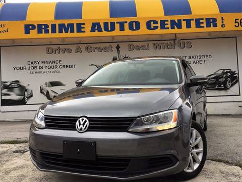 2012 Volkswagen Jetta for sale at PRIME AUTO CENTER in Palm Springs FL