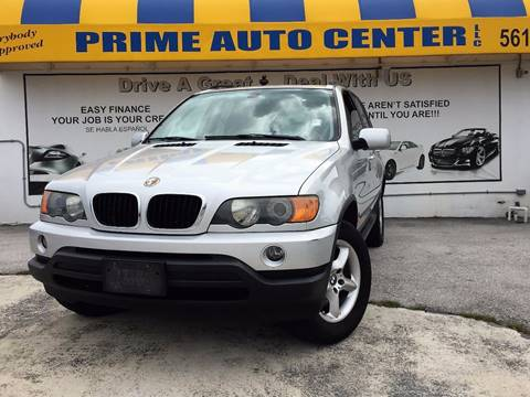 2003 BMW X5 for sale at PRIME AUTO CENTER in Palm Springs FL