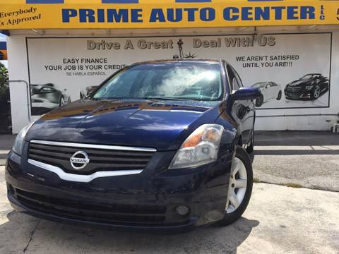 2009 Nissan Altima for sale at PRIME AUTO CENTER in Palm Springs FL