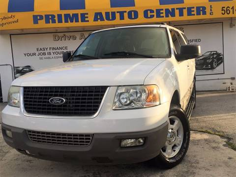 2003 Ford Expedition for sale at PRIME AUTO CENTER in Palm Springs FL