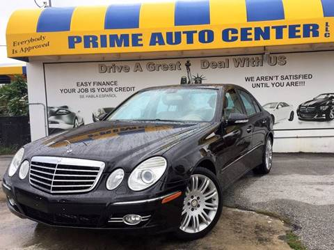 2008 Mercedes-Benz E-Class for sale at PRIME AUTO CENTER in Palm Springs FL