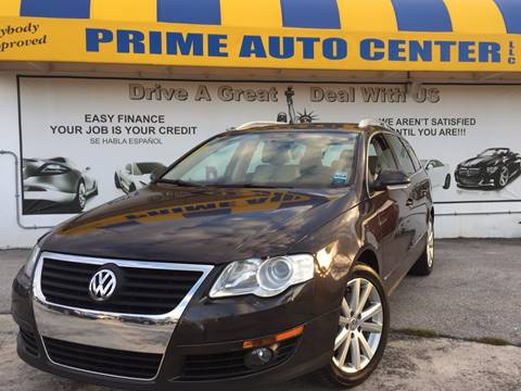 2010 Volkswagen Passat for sale at PRIME AUTO CENTER in Palm Springs FL