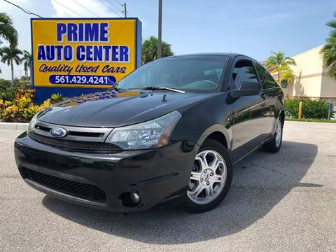 2010 Ford Focus for sale at PRIME AUTO CENTER in Palm Springs FL