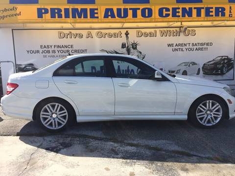 2008 Mercedes-Benz C-Class for sale at PRIME AUTO CENTER in Palm Springs FL