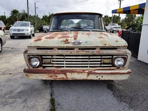1963 Ford F-100 for sale at PRIME AUTO CENTER in Palm Springs FL