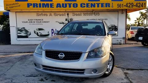 2006 Nissan Altima for sale at PRIME AUTO CENTER in Palm Springs FL