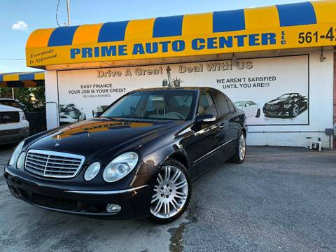 2004 Mercedes-Benz E-Class for sale at PRIME AUTO CENTER in Palm Springs FL