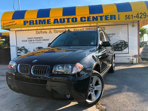 2006 BMW X3 for sale at PRIME AUTO CENTER in Palm Springs FL