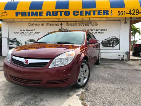 2008 Saturn Aura for sale at PRIME AUTO CENTER in Palm Springs FL