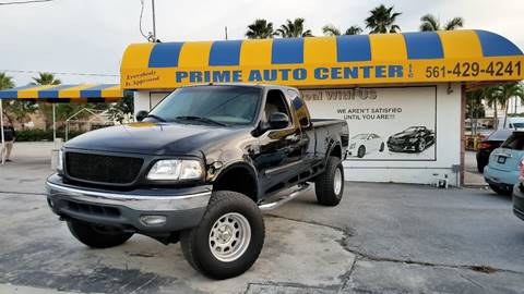 2000 Ford F-150 for sale at PRIME AUTO CENTER in Palm Springs FL