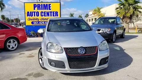 2007 Volkswagen GTI for sale at PRIME AUTO CENTER in Palm Springs FL