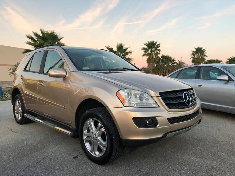 2006 Mercedes Benz M Class Awd Ml 350 4matic 4dr Suv In Palm Springs