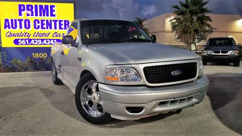 2002 Ford F-150 for sale at PRIME AUTO CENTER in Palm Springs FL