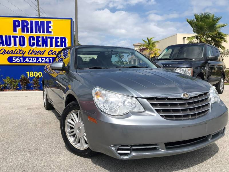 2008 Chrysler Sebring for sale at PRIME AUTO CENTER in Palm Springs FL
