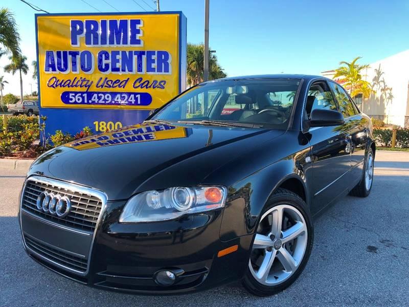 Audi A Dr Sedan In Palm Springs FL PRIME AUTO CENTER - Prime audi
