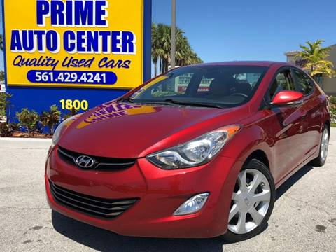 2011 Hyundai Elantra for sale at PRIME AUTO CENTER in Palm Springs FL