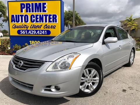 2011 Nissan Altima for sale at PRIME AUTO CENTER in Palm Springs FL