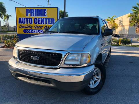 2000 Ford Expedition for sale at PRIME AUTO CENTER in Palm Springs FL