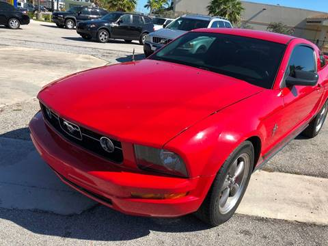 2006 Ford Mustang for sale at PRIME AUTO CENTER in Palm Springs FL